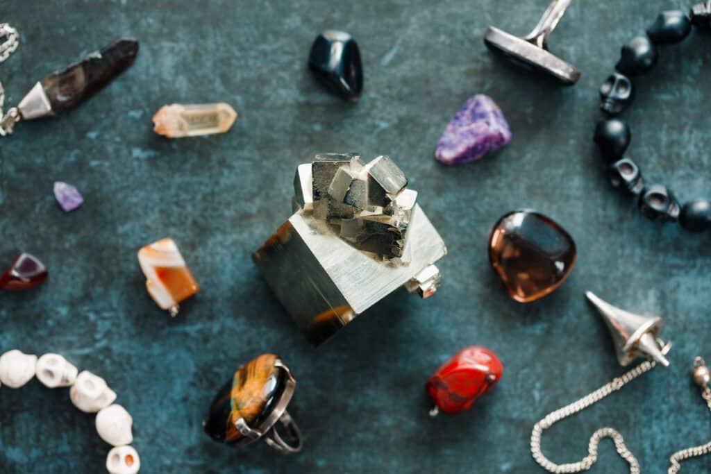limpieza de piedras preciosas