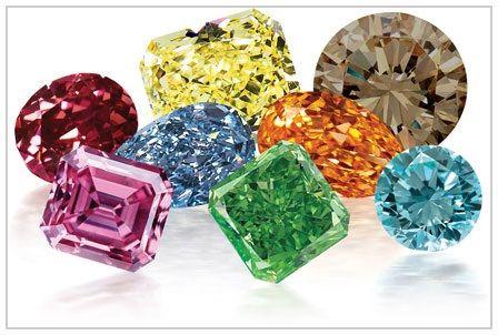 Inversión de diamante de color de fantasía natural